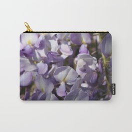 Close Up Of Lavender Wisteria Blossom Carry-All Pouch
