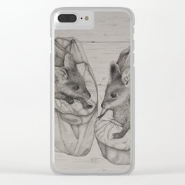 Swamp orphans Clear iPhone Case