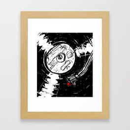 Long Play Framed Art Print