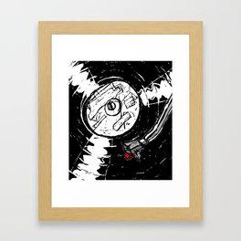 Long Play Framed Art Print