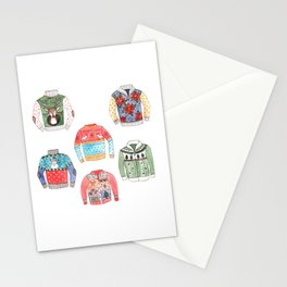 Ugly Sweaters Stationery Cards