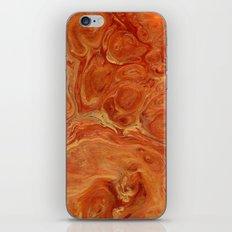 Burnt Orange Fire Lava Flow iPhone & iPod Skin