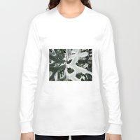 shadow Long Sleeve T-shirts featuring Shadow by Darkest Devotion