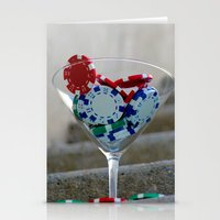 poker Stationery Cards featuring Poker by smittykitty