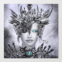 millenium falcon Canvas Prints featuring Millenium by YttriumDesign