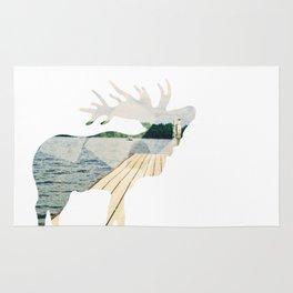 Elk. Rug