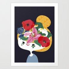 flower pot Art Print