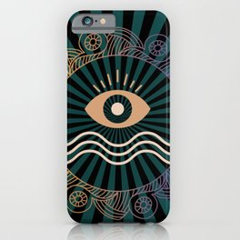 Third Eye Mandala iPhone Case