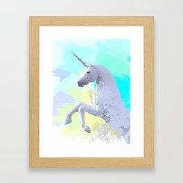 Magic Unicorn I Framed Art Print