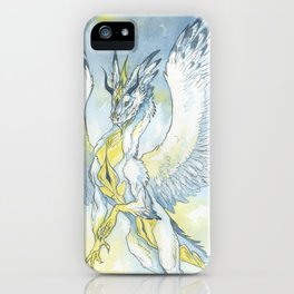 Feather dragon iPhone Case