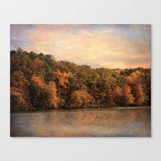 Autumn Reflection 1 Canvas Print