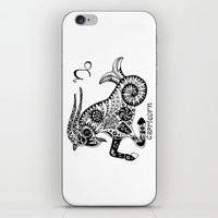 capricorn iPhone & iPod Skins featuring Capricorn by Anna Shell