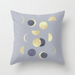Moons Throw Pillow