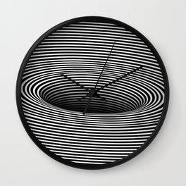 Black Hole Vertigo Wall Clock