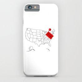 Knob Pin Texas iPhone Case