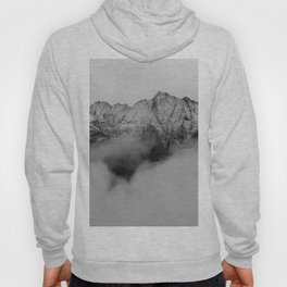 Mountains (Black and White) Hoody