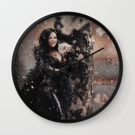 Christmas / The Queen Wall Clock