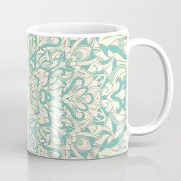 Green Pastel Unique mandala Coffee Mug