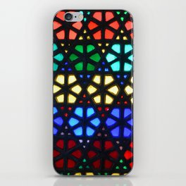 Geometric Stained Glass iPhone Skin