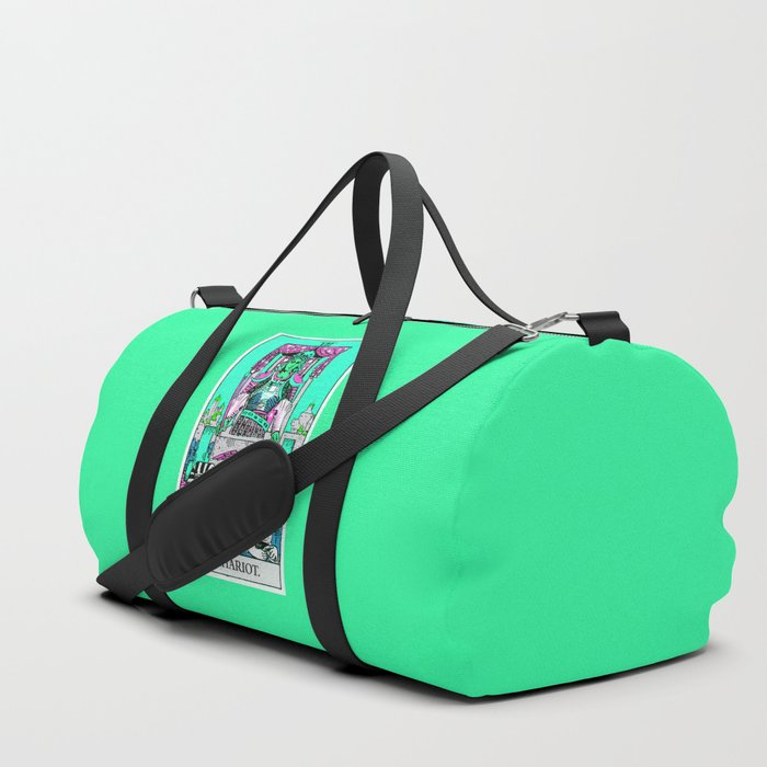 7. The Chariot- Neon Dreams Tarot Duffle Bag