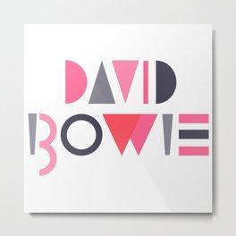 Memphis Bowie Metal Print