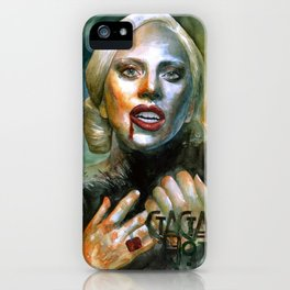 I am very hungry iPhone Case