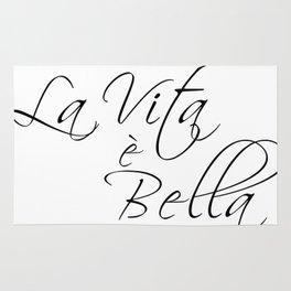 la vita e bella - life is beautiful Rug