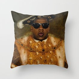 Jay in Shades Throw Pillow