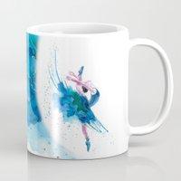 ballet Mugs featuring Ballet by Zdenka Koskova