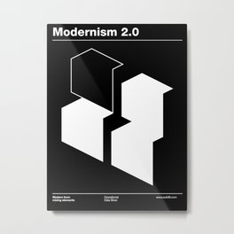 Modernism 2.0 Metal Print