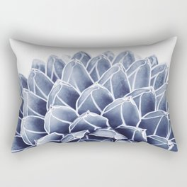 Succulent splendour - chambray Rectangular Pillow