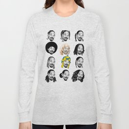Snoop Dogg Hair Long Sleeve T-shirt