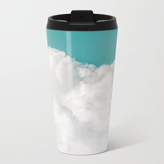 Dreaming Of Mountains Metal Travel Mug