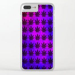 LED Indica Clear iPhone Case