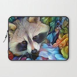 Peekaboo Raccoon Laptop Sleeve