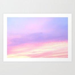 174. Sunset #2, France Art Print