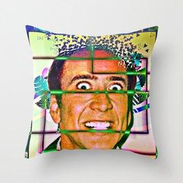 Nicolas caged Throw Pillow