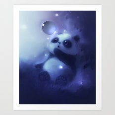 Cold Night Art Print