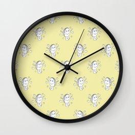 Cute Cartoon Drawing Pattern Wall Clock