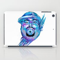 pun iPad Cases featuring Big Pun : Dead Rappers Serie by Largetosti