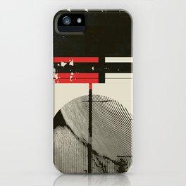« graphique .1 » iPhone Case