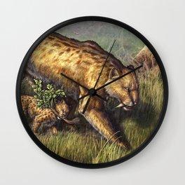 First Hunt Wall Clock