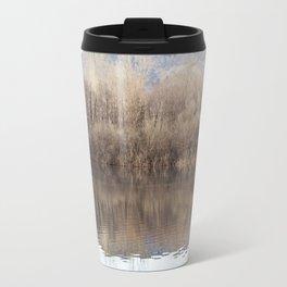 Water lake reflections Travel Mug