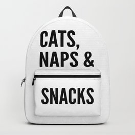 Cats, Naps & Snacks Backpack