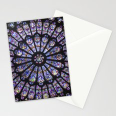 stained glass Stationery Cards
