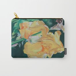 Iris Yellow Sunshine Carry-All Pouch