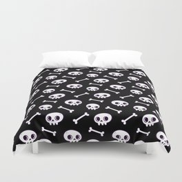 Cute Skulls Duvet Cover