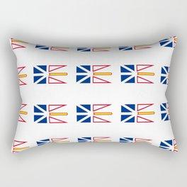 flag of newfoundland and labrador -avalon,newfoundlander,labradorian,john's,conception Rectangular Pillow