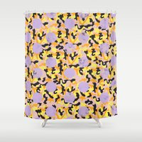 berlin Shower Curtains featuring BERLIN by kalakali