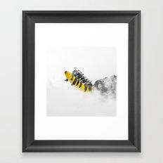 All Aboard. Framed Art Print